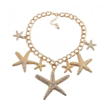 Summer Ocean Starfish Conch...