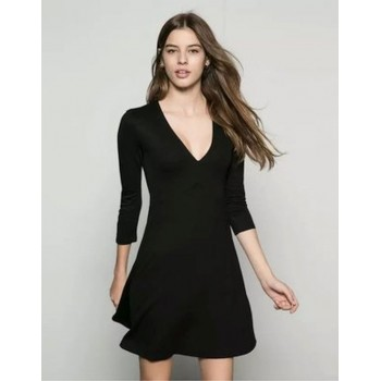 Ladies Women Black Petite...