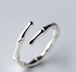 Adjustable 925 Silver Ring...