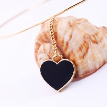 UK Women Heart Pendant Gold...