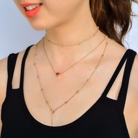 Summer Jewelry Long Chain Drop Silver Gold Vertical Bar Pendant Necklace 5
